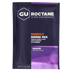 GU Energy Roctane Ultra Endurance Energy Drink - Nutrición deportiva - Grape 65g